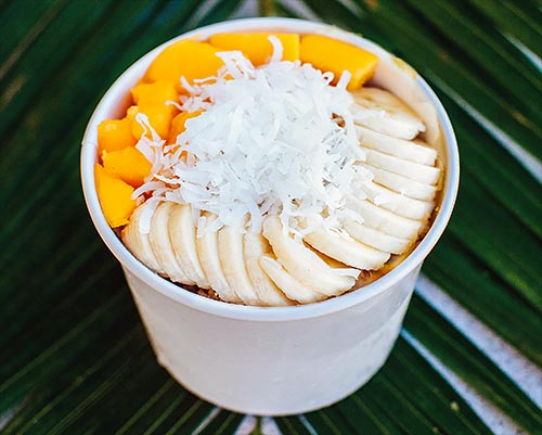 Hawaiian Acai Bowl - Maui Breakfast Kihei