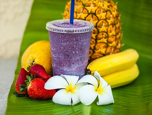 Smoothie and Maui Coffee Kihei